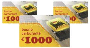 buoni carburante ENI 1000 euro