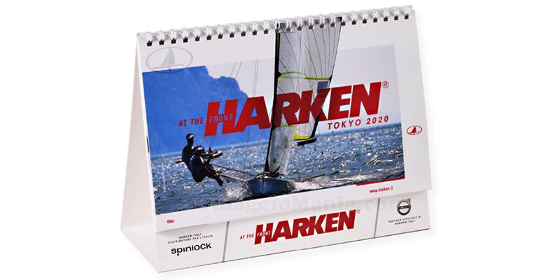 calendario da tavolo Harken 2020