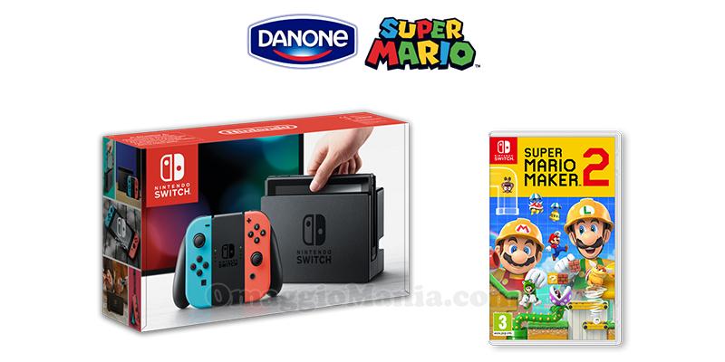 concorso Vinci Nintendo con Danone 2020