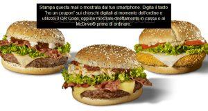 coupon McMenu omaggio McDonald's My Selection 2020
