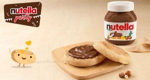 Nutella Party - McCrunchy Bread con Nutella gratis per San Valentino 2020