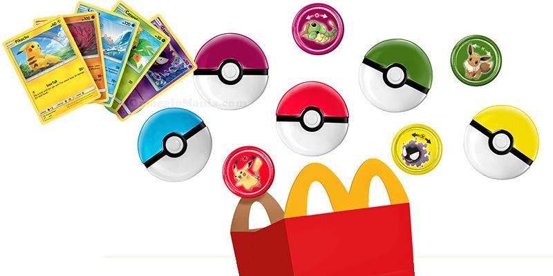 Pokémon Happy Meal McDonald's febbraio 2020