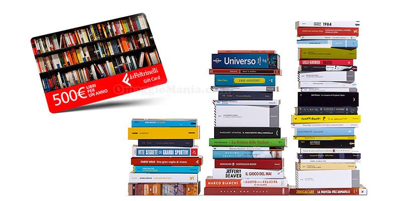 concorso La Feltrinelli Libri per un anno