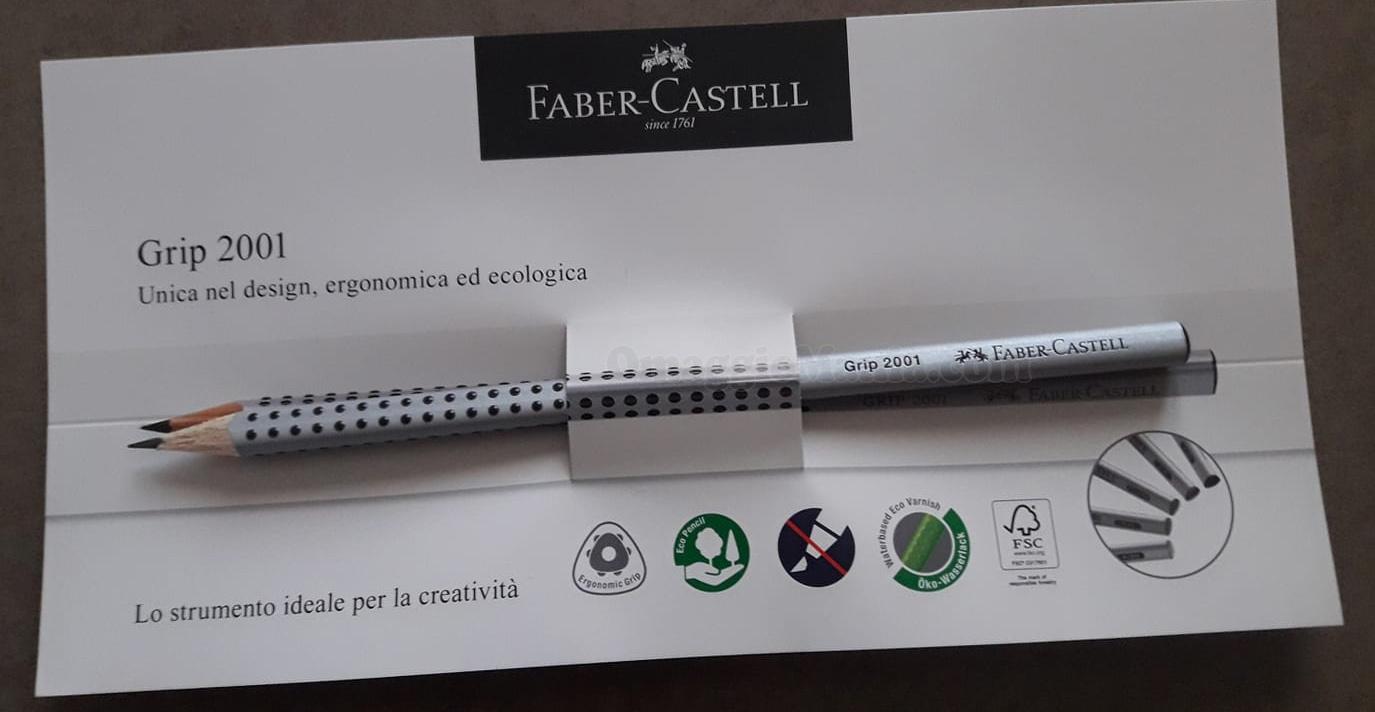 matite omaggio fabercastell gratis  omaggiomania