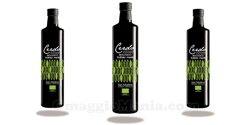 olio extravergine di oliva biologico San Martino