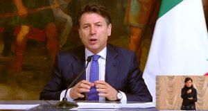 Giuseppe Conte conferenza 28 marzo 2020