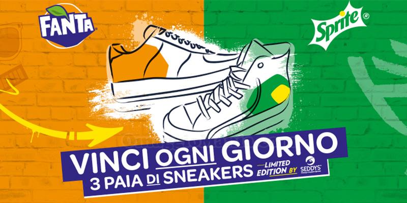 concorso Fanta Sprite Vinci le tue sneakers