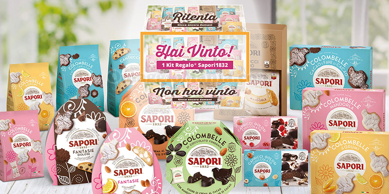 concorso Gira la ruota Sapori - Pasqua Edition