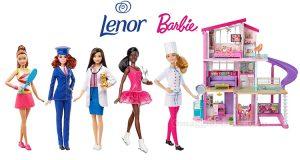 concorso Puoi essere tutto ciò che desideri con Barbie e Lenor