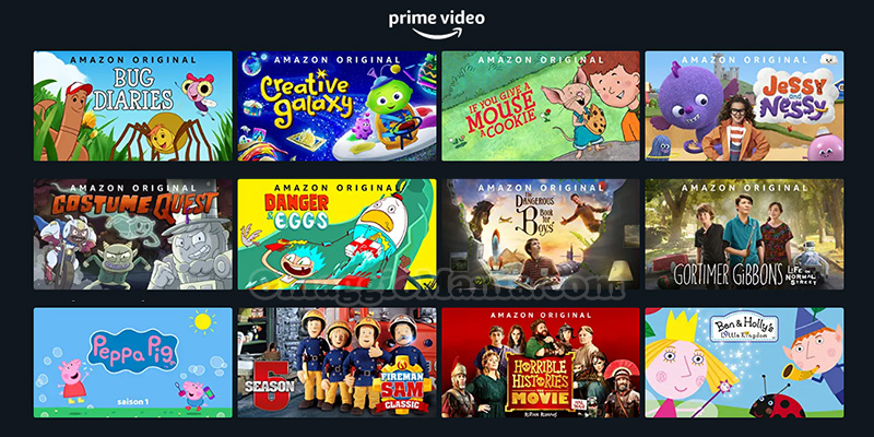contenuti gratis Amazon Prime Video solidarietà digitale