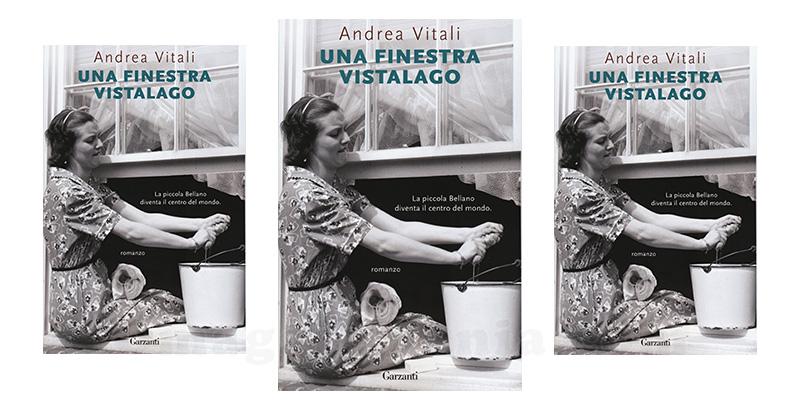 libro Una Finestra Vistalago di Andrea Vitali