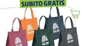 shopper multiuso Aldi gratis