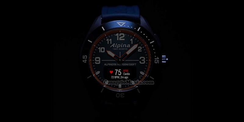 smartwatch AlpinerX Alive