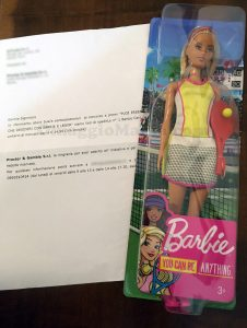 Barbie Carriera di Maria Teresa con Lenor