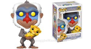 Funko Pop! Il Re Leone Rafiki e Simba