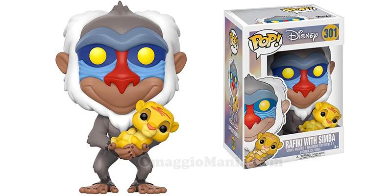 Funko Pop! Il Re Leone Rafiki e Simba