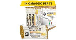 confezione omaggio integratore Nambra