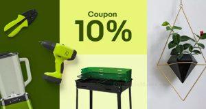 ebay sconto 10% su casa e giardino