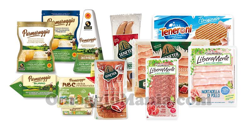 prodotti Casa Modena, Senfter, Parmareggio