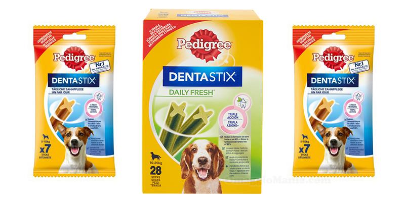 prodotti Dentastix e Dentastix Daily Fresh