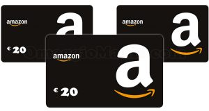 vinci buoni Amazon da 20 euro