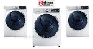 Vinci una lavatrice Samsung con S.C. Johnson