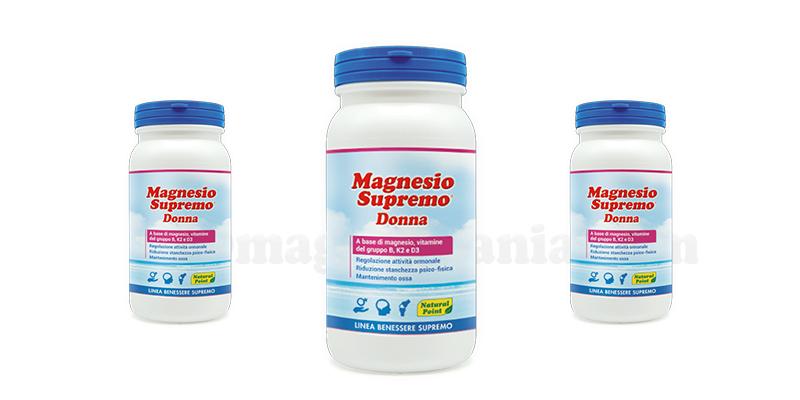 campioni omaggio magnesio supremo donna