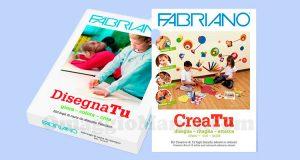 pochette CreaTu e risma DisegnaTu Fabriano
