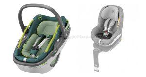 seggiolino auto Auto Coral e dispositivo antiabbandono e-Safety Bebé Confort