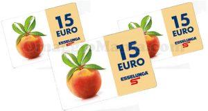 Esselunga 15 euro senza spesa minima