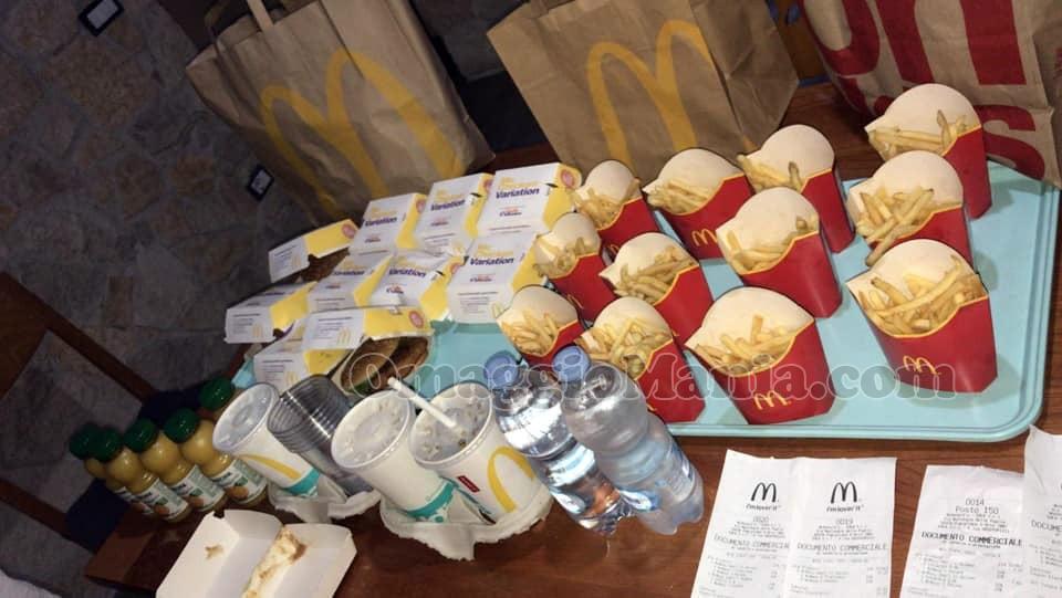 McMenu Chicken Variation gratis da McDonald's di Assunta