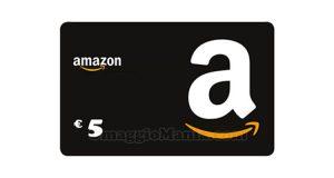 buono Amazon 5 euro