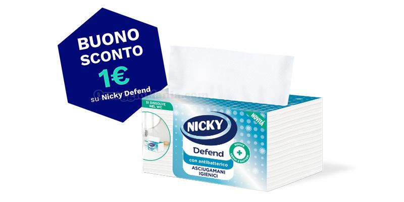 buono sconto Nicky Defend