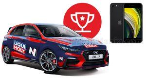 concorso Liqui Moly Best Brand 2020 vinci Hyundai i30 N o iPhone SE