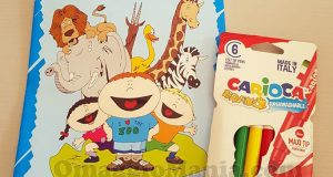 confezione di pennarelli Carioca e album da colorare da Coloreria Italiana di Maria Grazia