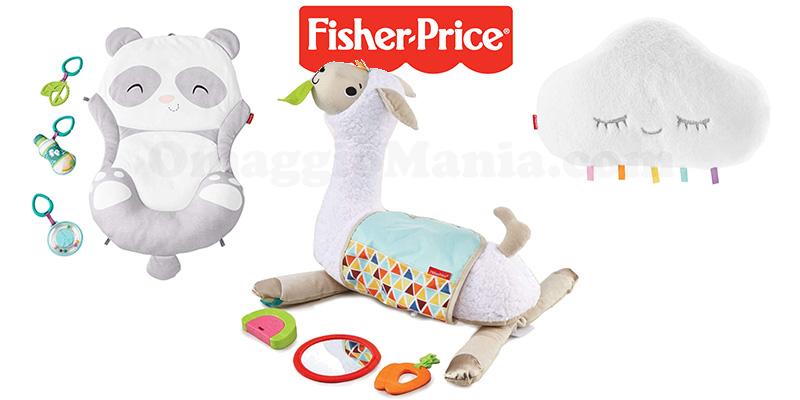 giocattoli Fisher-Price da testare con Mamma che Test