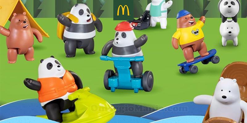sorprese We Bare Bears con Happy Meal da McDonald's