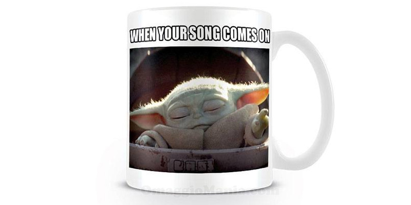 tazza The Mandalorian When your song comes on