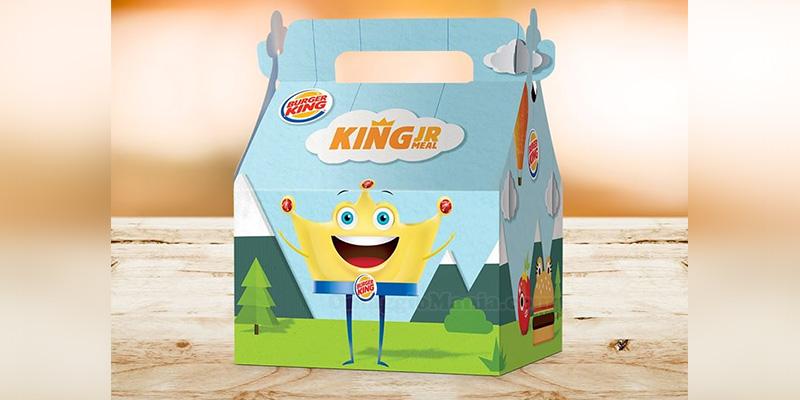 tripla sorpresa da Burger King con King Junior Meal