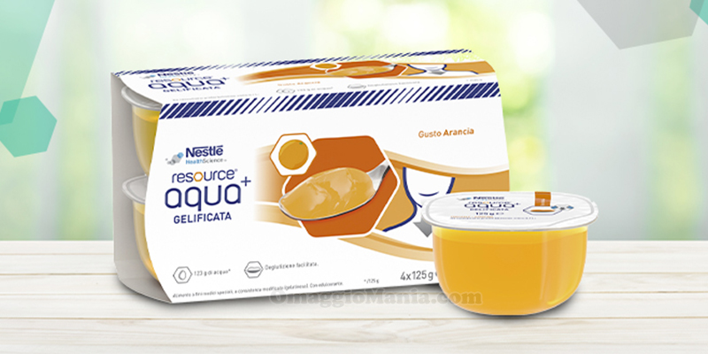 Nestlé Resource Aqua+ acqua gelificata