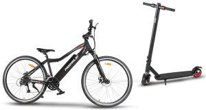 bicicletta elettrica e monopattino elettrico Prismalia