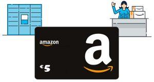 buono Amazon 5 euro Amazon Locker o Counter