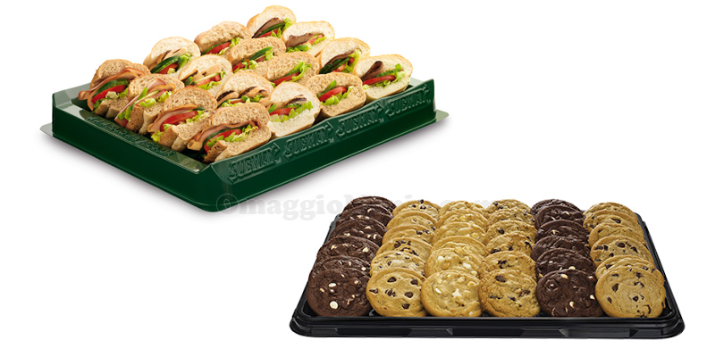 catering Subway sub e cookies