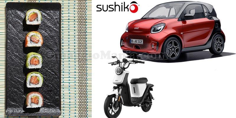 concorso Be Smart, Eat Sushiko... and win a Smart