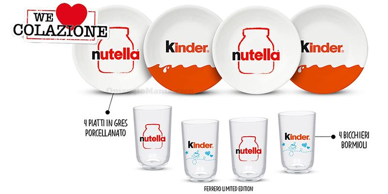 concorso Kinder e Ferrero We Love Colazione luglio 2020