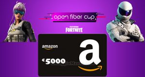 concorso Open Fiber Cup Fortnite
