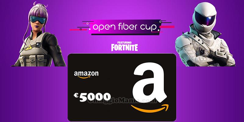 concorso Open Fiber Cup Fortnite