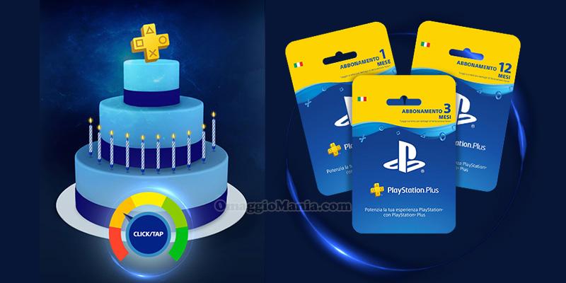 concorso Sony PlayStation PS Plus Anniversary