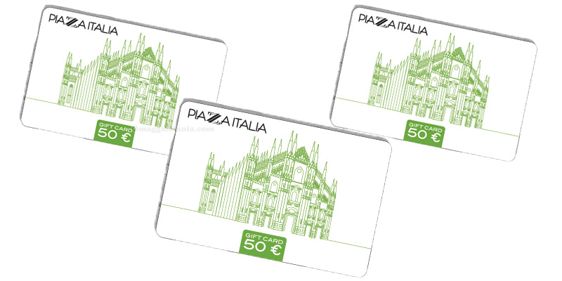 gift card Piazza Italia 50 euro