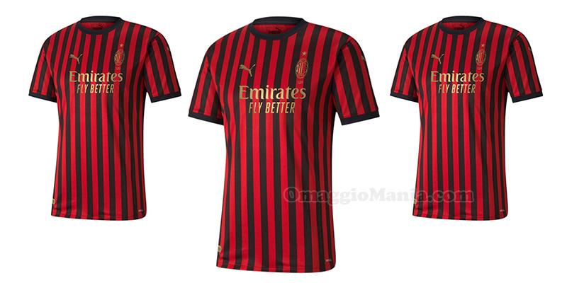 maglia AC Milan 120 anniversario